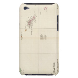 Map of The Leeward Islands Barely There iPod Covers