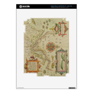 Map of the Magellan Straits, Patagonia, from the M Skin For iPad 3
