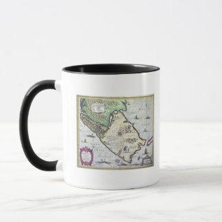 Map of the Magellan Straits, Patagonia Mug