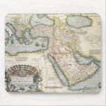 Map of the Middle East Mousepad