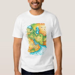 Map of the Middle East T Shirt