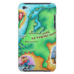 Map of the Netherlands iPod Touch Case