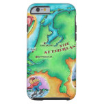 Map of the Netherlands Tough iPhone 6 Case