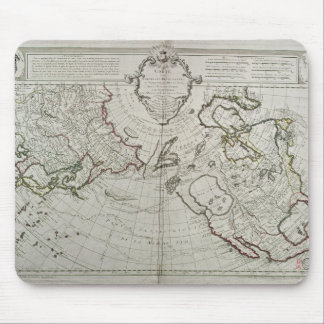 Map of the New Discoveries Mouse Pad