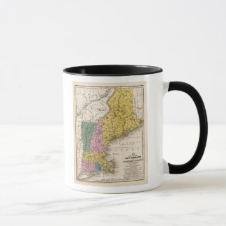 Map of the New England or Eastern States Mug