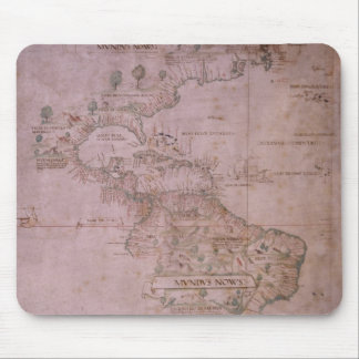 Map of the New World, c.1532 Mouse Pad