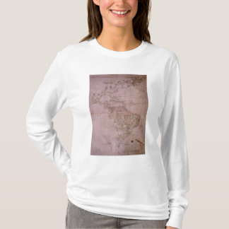 Map of the New World, c.1532 T-Shirt