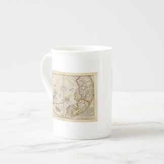 Map of the North Pole and territories near it Tea Cup