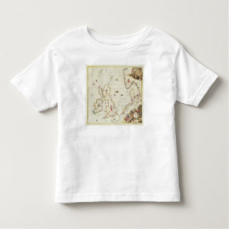 Map of the North Sea, c.1675 Toddler T-shirt