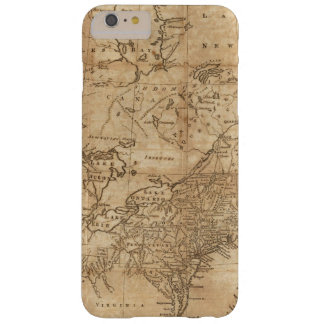 Map of the Northern and Middle States 2 Barely There iPhone 6 Plus Case