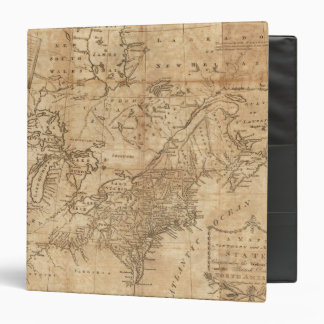 Map of the Northern and Middle States 2 Binder