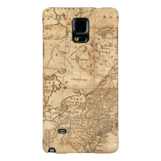 Map of the Northern and Middle States 2 Galaxy Note 4 Case