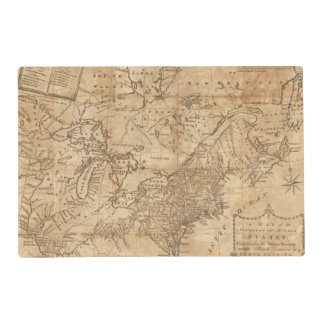 Map of the Northern and Middle States 2 Placemat