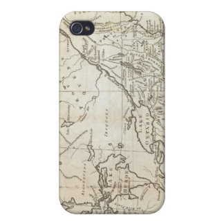 Map of the Northern and Middle States Cases For iPhone 4