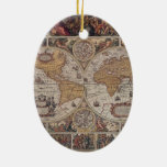 """Map of the """"Old World"""" Ornament"""