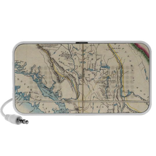 Map of the Oregon Territory 2 Portable Speaker