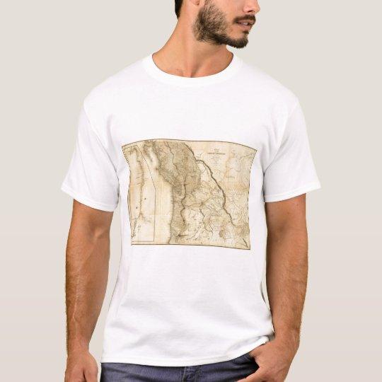 Map of the Oregon Territory T-Shirt