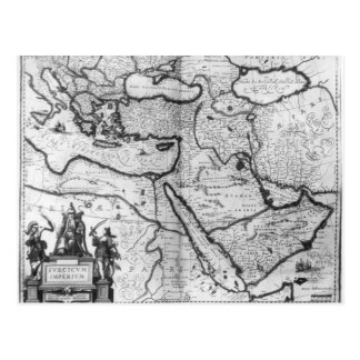 Map of the Ottoman Empire Postcard