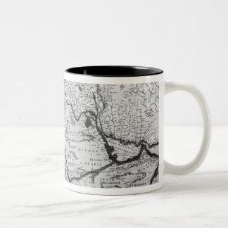 Map of the Ottoman Empire Two-Tone Coffee Mug