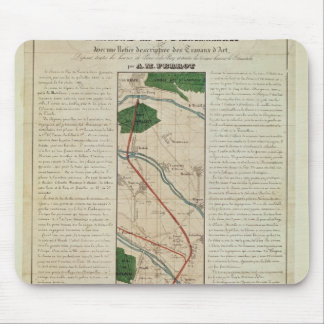 Map of the Paris to St. Germain Railway, by Mouse Pad