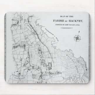 Map of the Parish of Hackney Mouse Pad