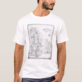 Map of the Parish of Hackney T-Shirt