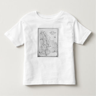 Map of the Parish of Hackney Toddler T-shirt