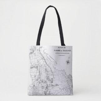 Map of the Parish of Hackney Tote Bag