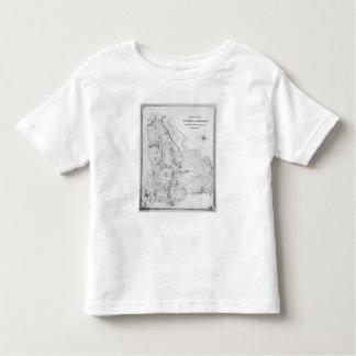 Map of the Parish of Hackney Toddler T-shirt