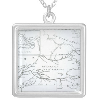 Map of the parts of Europe and Asia Jewelry