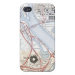 Map of the Pentagon Road System Case For iPhone 4