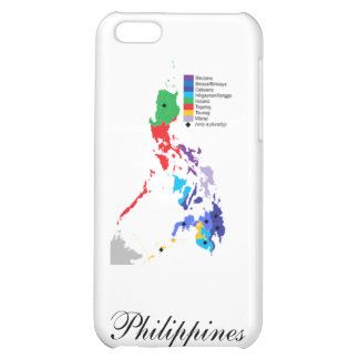 Map of the Philippines - Iphone Case Cover For iPhone 5C