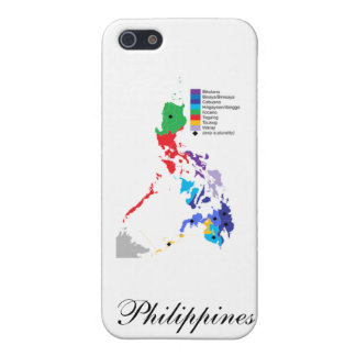 Map of the Philippines - Iphone Case