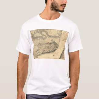 Map of the Province of Quebec Canada (1776) T-Shirt