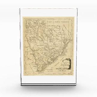 Map of the Province of South Carolina (1779) Acrylic Award