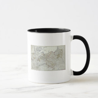 Map of the Prussian States in 1799 Mug