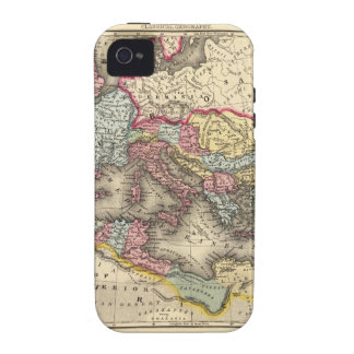 Map of the Roman Empire iPhone 4 Case