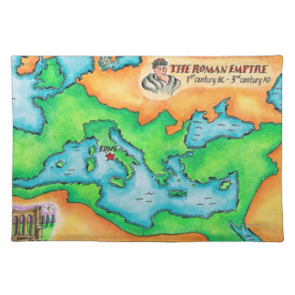 Map of the Roman Empire Cloth Placemat
