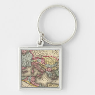 Map of the Roman Empire Key Chain