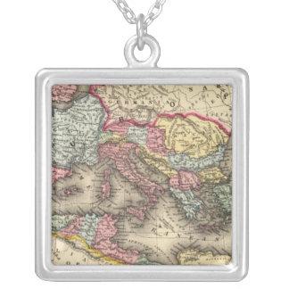 Map of the Roman Empire Pendant