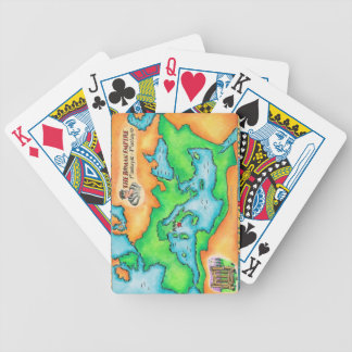 Map of the Roman Empire Bicycle Playing Cards