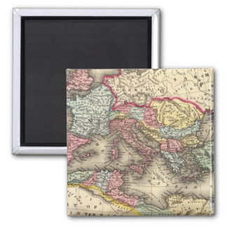 Map of the Roman Empire Refrigerator Magnets