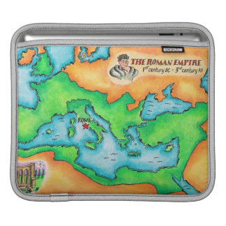 Map of the Roman Empire Sleeves For iPads