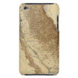Map Of The San Joaquin Barely There iPod Covers