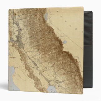 Map Of The San Joaquin 3 Ring Binders