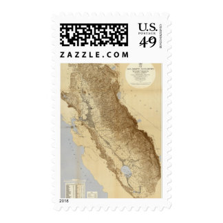 Map Of The San Joaquin Postage