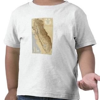 Map Of The San Joaquin Shirts