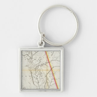 Map of the Seat of War among the Creek Indians Keychain