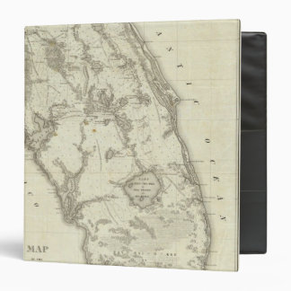 Map Of The Seat Of War In Florida Binders