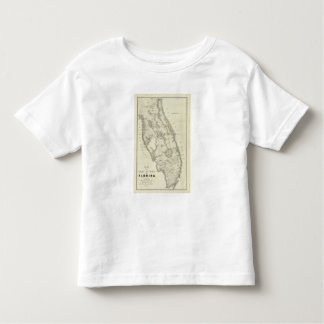 Map Of The Seat Of War In Florida Toddler T-shirt